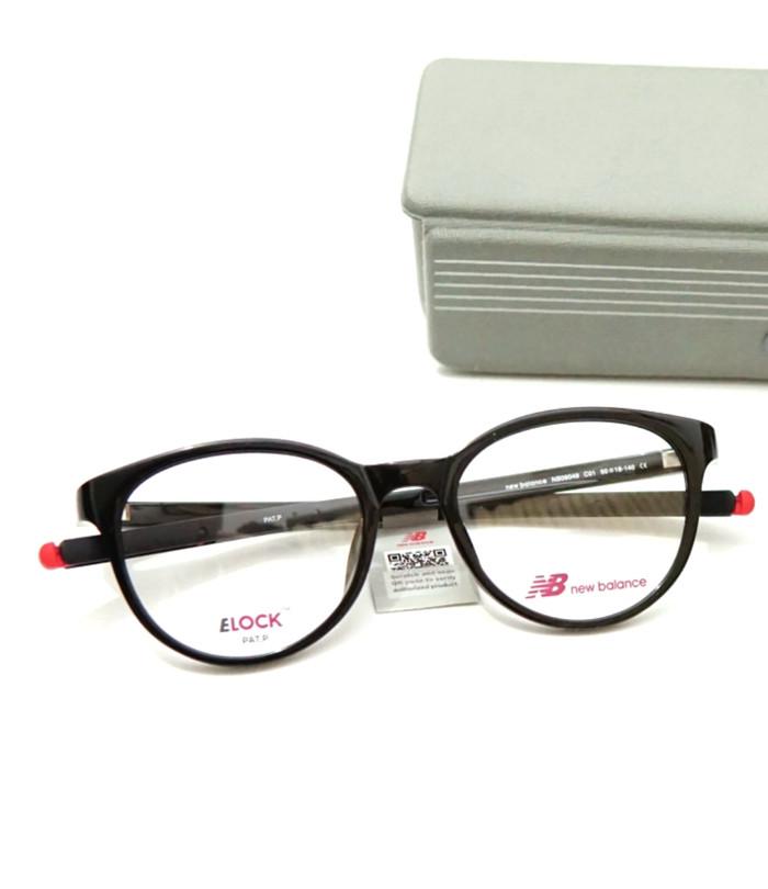 Frame kacamata new balance nb09049 black glossy red col1 original fc294d074d