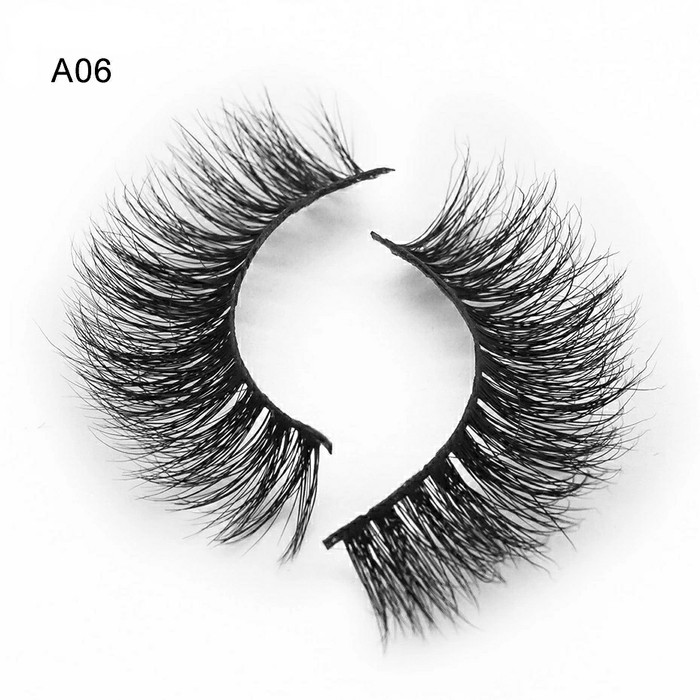 harga A06 bulumata palsu 3d bulu cerpelai tupai 100% 3d mink false eyelash Tokopedia.com