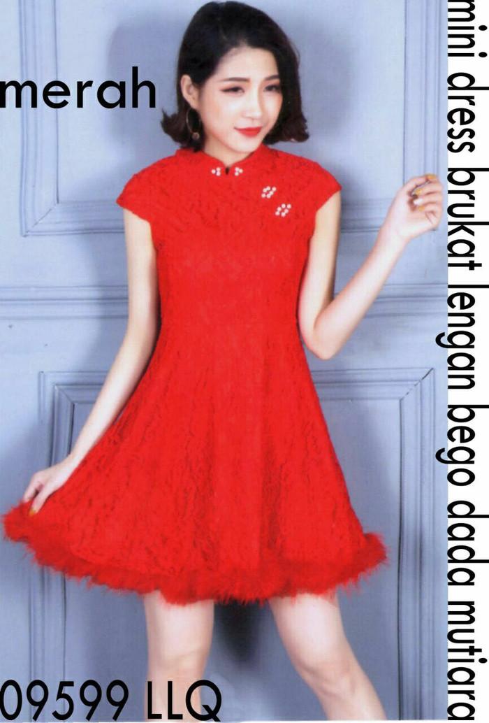 harga Dress shanghai brukat import 36180 Tokopedia.com