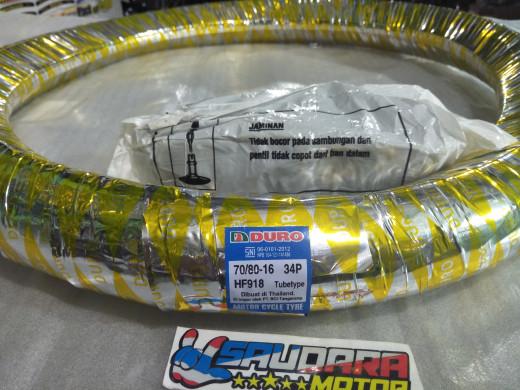 harga Promo paketan ban luar & ban dalam duro ring 16 ukuran 70/80-16 Tokopedia.com