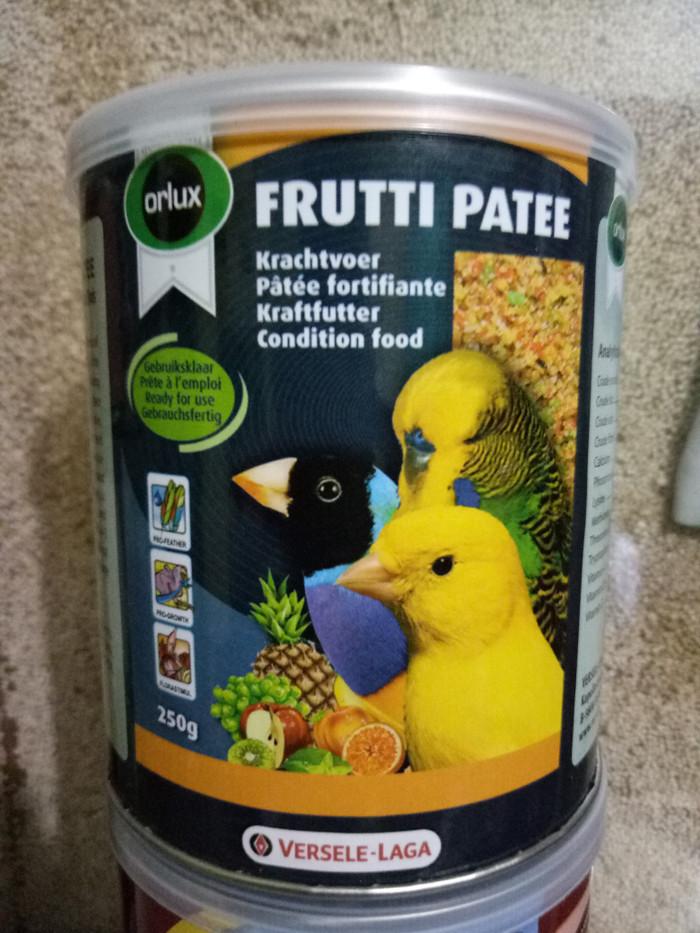 harga Frutti patee egg food pakan burung kenari love bird Tokopedia.com