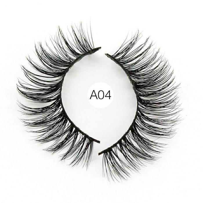 harga A04 bulumata palsu 3d bulu cerpelai tupai 100% 3d mink false eyelash Tokopedia.com