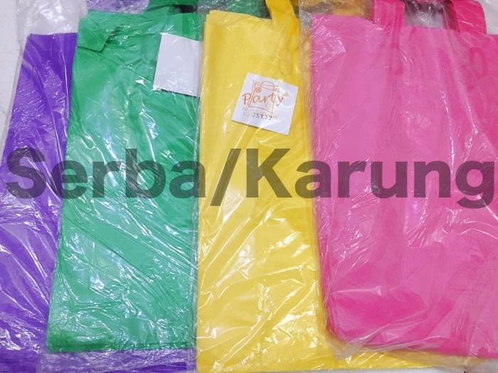 harga Kantong plastik softhandle party 25x32 Tokopedia.com