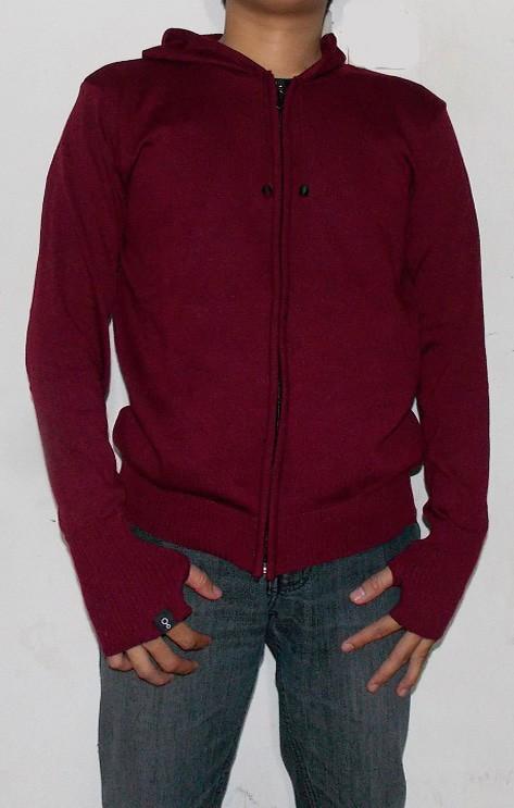 Sweater / Jaket Rajut Greenlight Ariel Noah Merah Maron