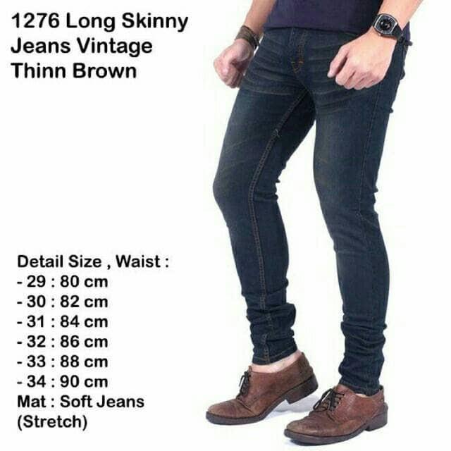 Foto Produk BEST SELLER Celana Jeans Stretch Pria Skinny Berkualitas Distro Modis dari Gudang Zetha