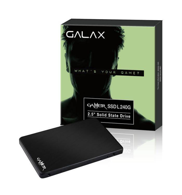 Foto Produk Galax SSD Gamer L Series 240GB (R:560MB/S W:500 MB/s) dari distributorkomputer
