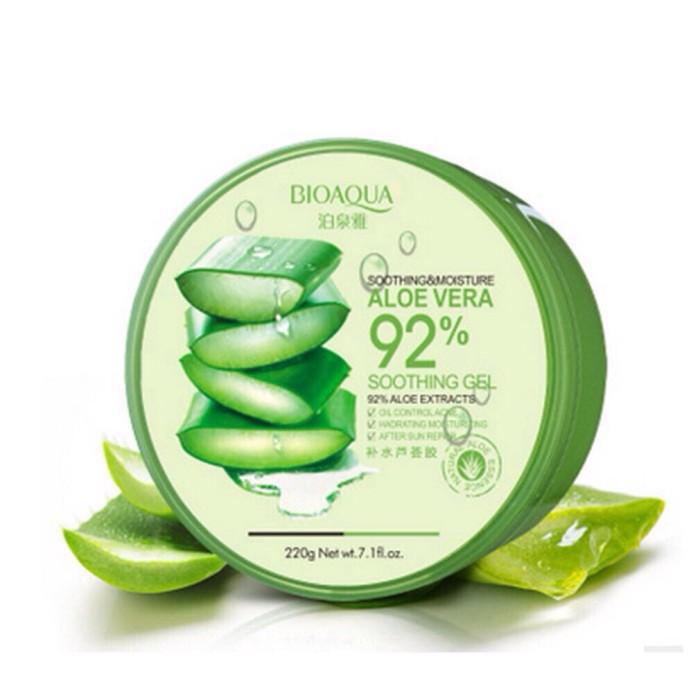 harga Bioaqua soothinh gel 92% aloe vera / seperti nature republic Tokopedia.com