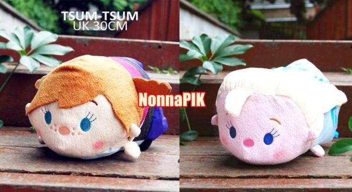 harga Boneka disney tsum-tsum tsum tsum baymax dan frozen anna elsa 20cm Tokopedia.com