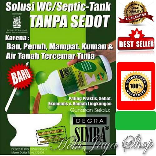 Foto Produk Degra Simba Solusi OK wc/septic tank mampet/penuh tanpa harus disedot dari HOKI QUALITY STORE