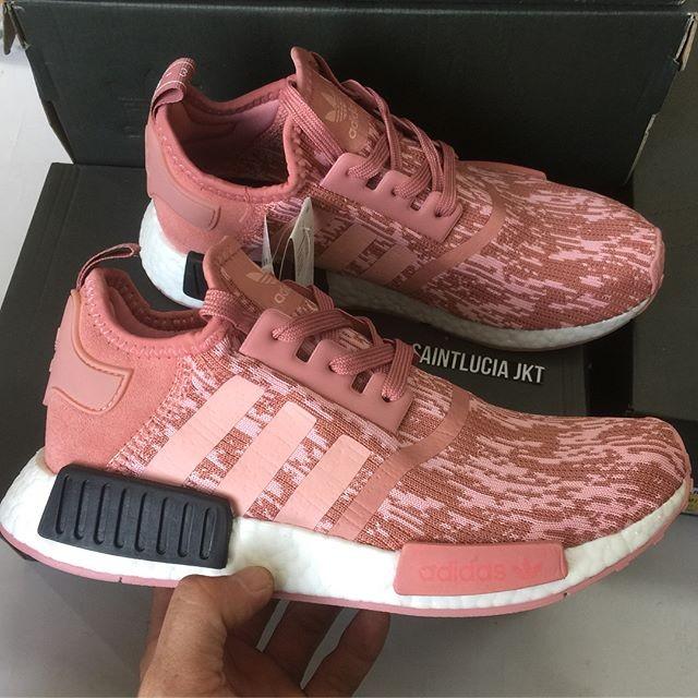 f2c72136e Jual sepatu Adidas NMD R1 Primeknit Raw Pink - DKI Jakarta ...