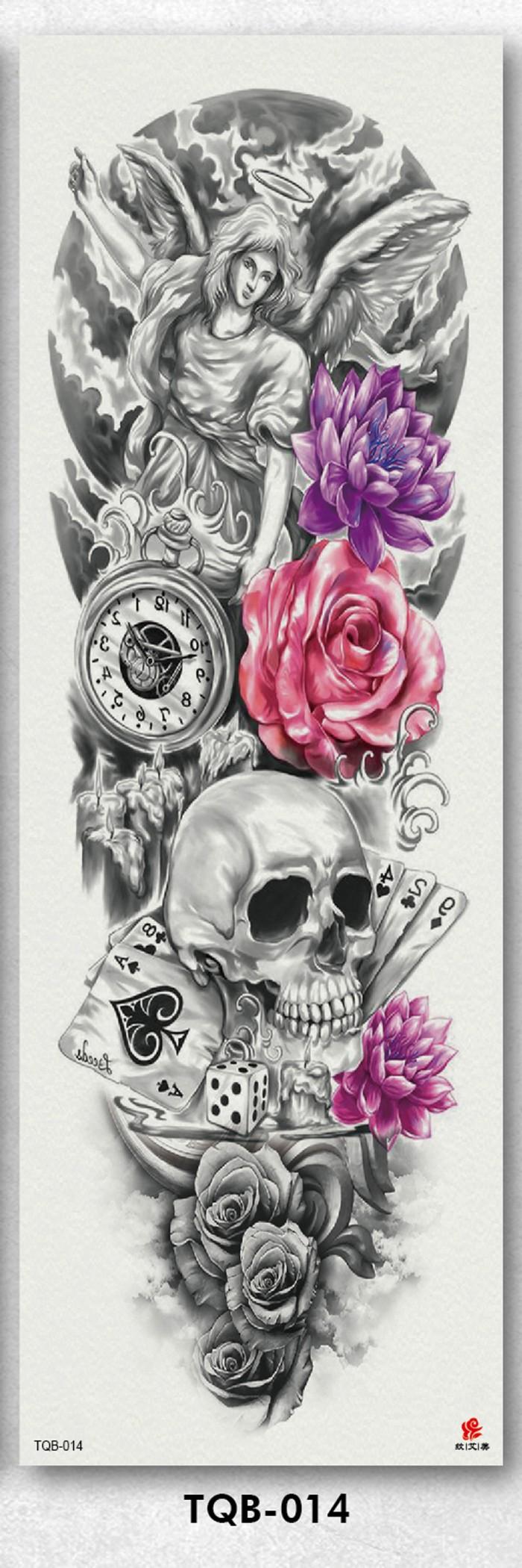 Foto Produk Tato/Tatto temporary/Tatto Temporer/ tatto design terbaru17x46 TQB014 dari Creativetatto