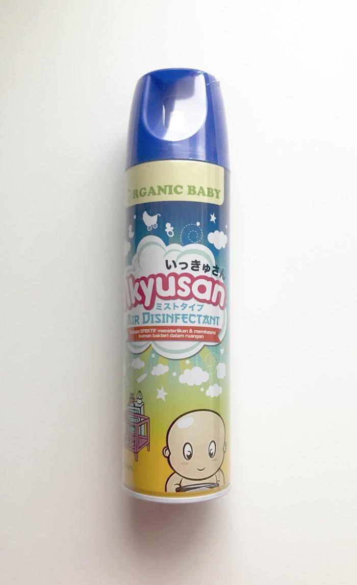 Foto Produk Ikyusan Organic Baby Air Disinfectant 300ml / Steril Ruangan Bayi dari Grace Personal Products