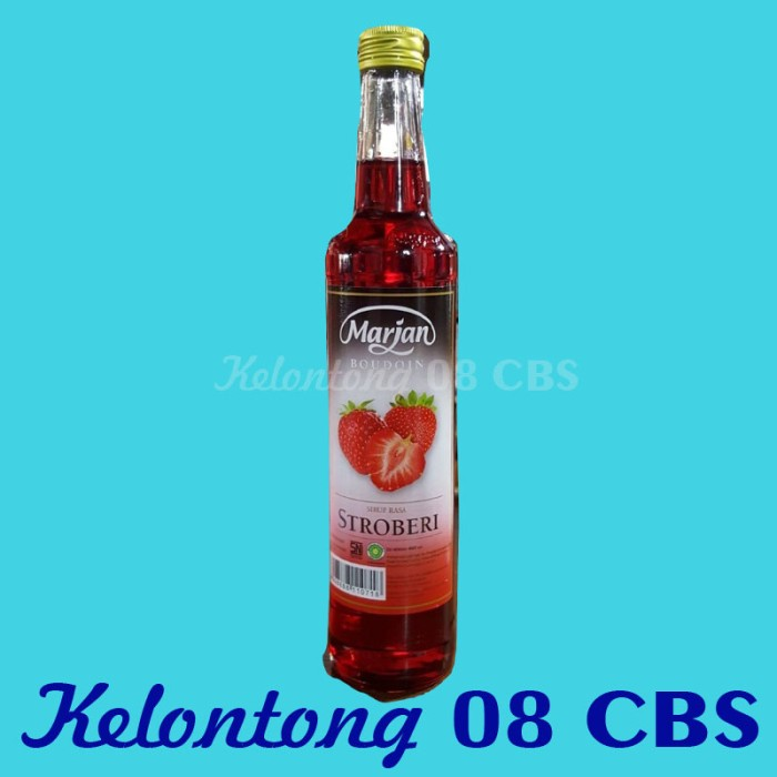 harga Syrup sirup marjan buodoin rasa strawberry per dus isi 12 botol Tokopedia.com