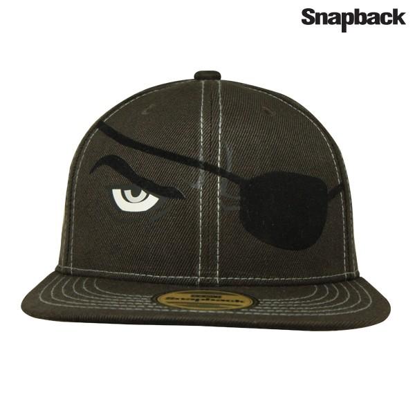 Snapback topi hiphop dewasa marvel eyes shield brown 9d2b3bfe18