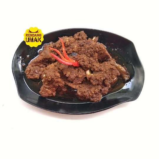 250 gr Rendang Daging Sapi Bumbu Asli Home Made Fresh Promo 0,25 kg