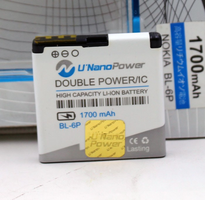 harga Baterai ori double power double ic ultranano type nokia bl 6p Tokopedia.com