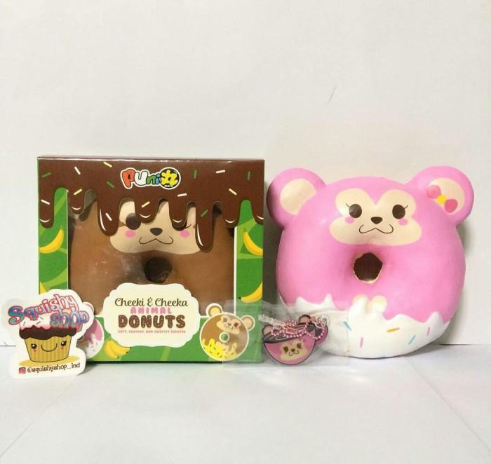 Cheeki & cheeka animal donut