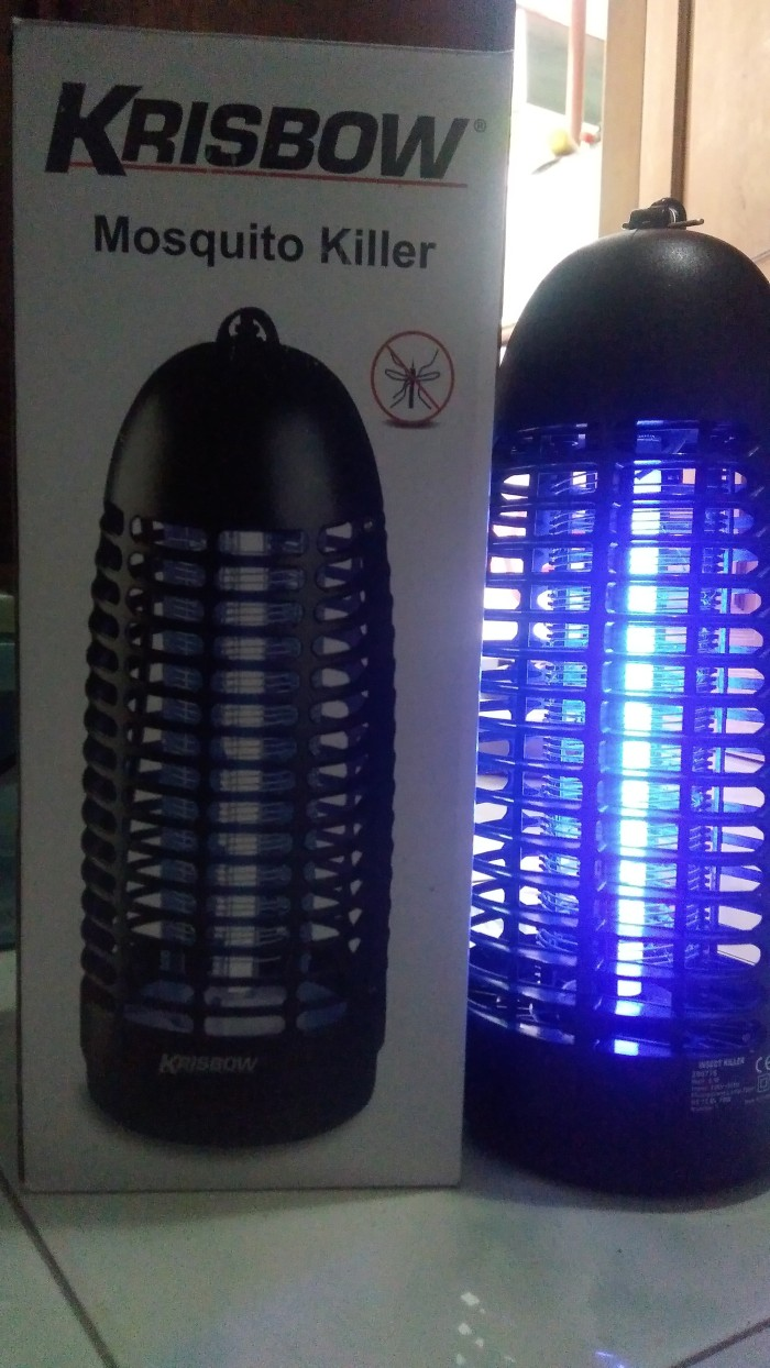 Jual Anti Nyamuk Elektrik Krisbow Mosquito Killer Perangkap Lampu Js30