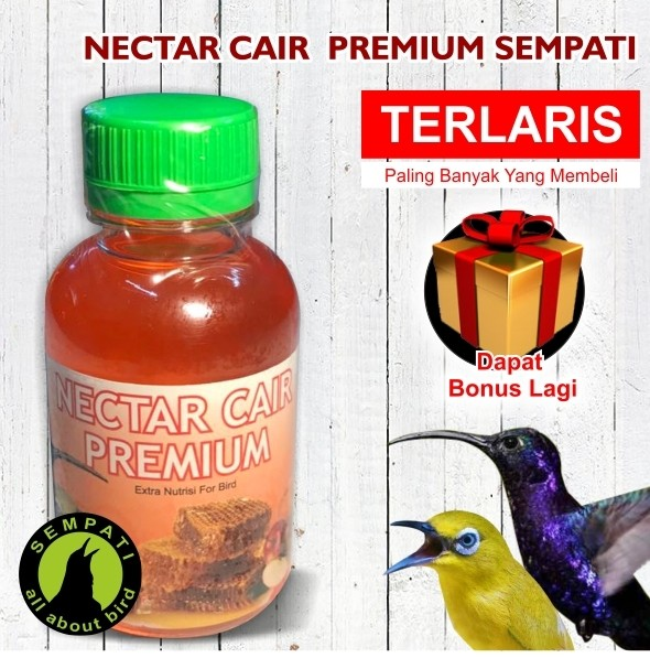 harga Nectar Cair Premium Sempati Vitamin Burung Pleci Kolibri Gacor Ja18 Tokopedia.com
