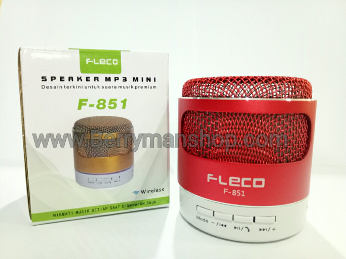 harga Speaker mini bluetooth fleco f-851 Tokopedia.com