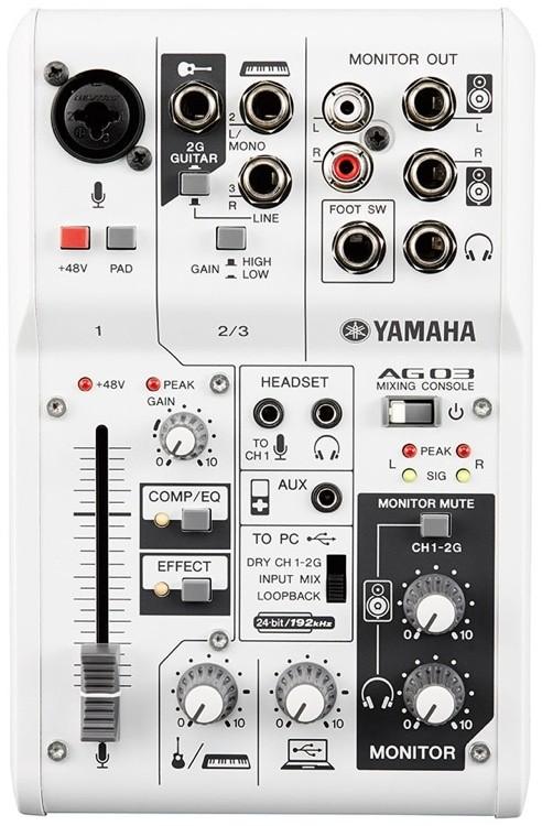 harga Yamaha mixer / mixing console / ag03 / ag-03 original Tokopedia.com