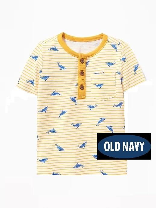 harga Old navy - original - striped henley for toddler boys Tokopedia.com