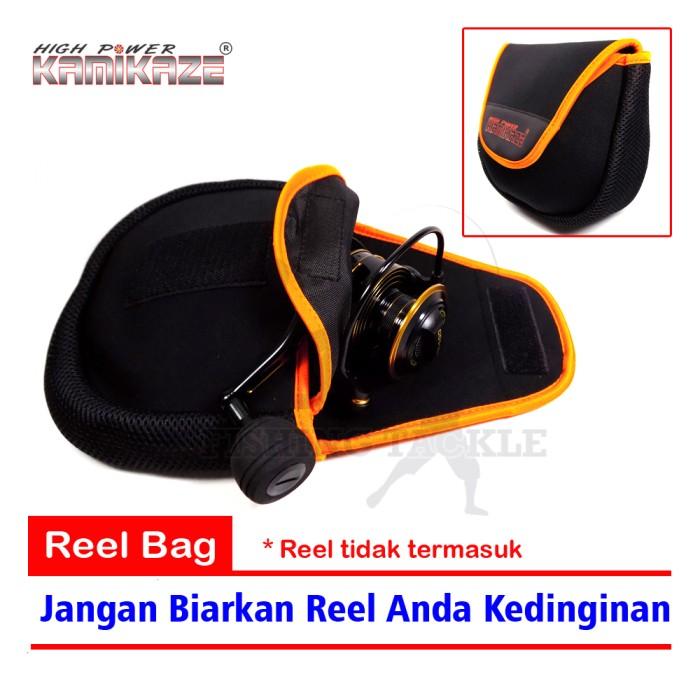 harga Kamikaze reel bag jugy 107-1  tas reel pancing 2 layer - 11x13x6cm Tokopedia.com
