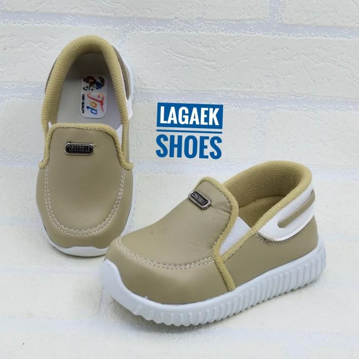 harga Sepatu slip on - slop anak 1-3 tahun semi formal krem bagus sku-kik Tokopedia.com