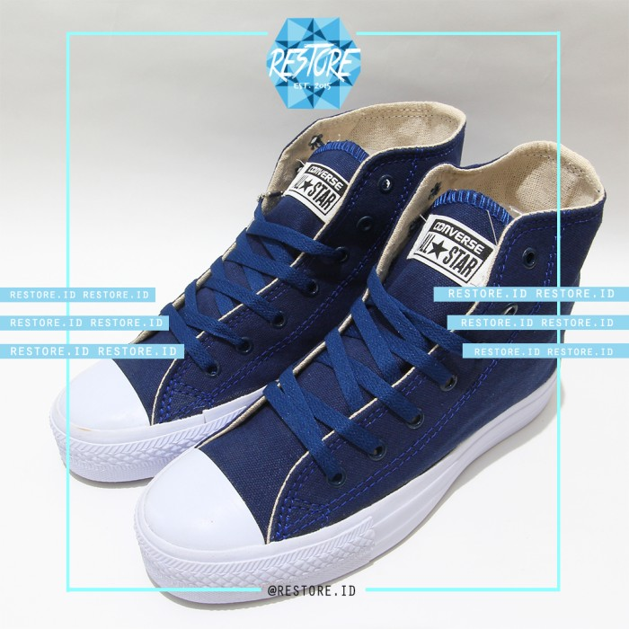 Jual Converse All Star Chuck Taylor High   Ct Ii   Ct 2   Navy ... be9076724e