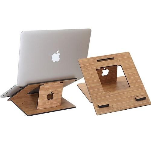 harga Stand laptop wood style portable design kayu meja laptop 11-17 inch Tokopedia.com