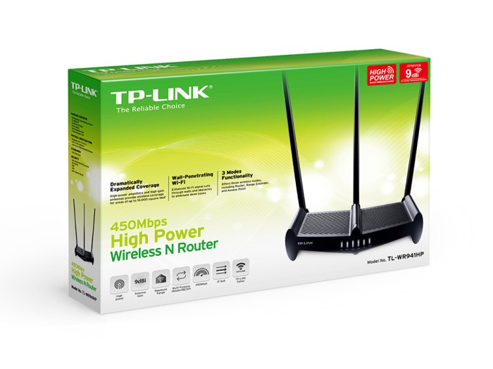 harga Tp-link tl-wr941hp450mbps hight power wireless n router Tokopedia.com