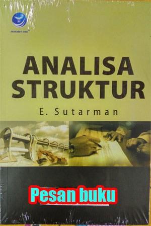 harga Buku analisa struktur e.sutarman Tokopedia.com