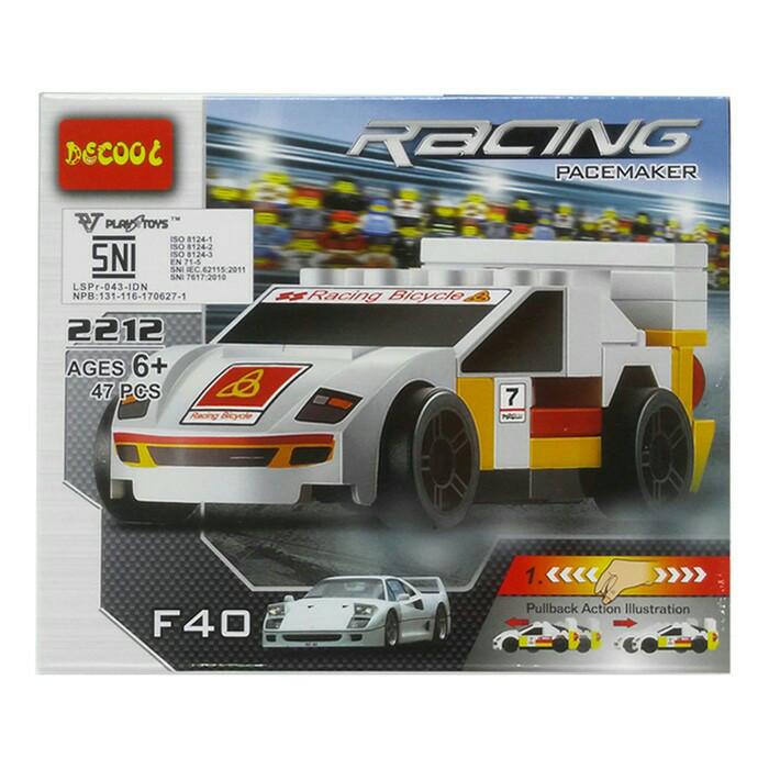 harga Lego (decool) racing - ferrari f40 Tokopedia.com