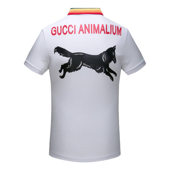 a87544029 Jual Gucci Animalium Polo Shirt Wolf Applique PERFECT REAL 1:1 BEST ...