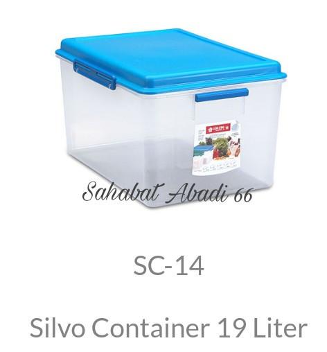 harga Lion star sc-14 silvo container 19lt Tokopedia.com