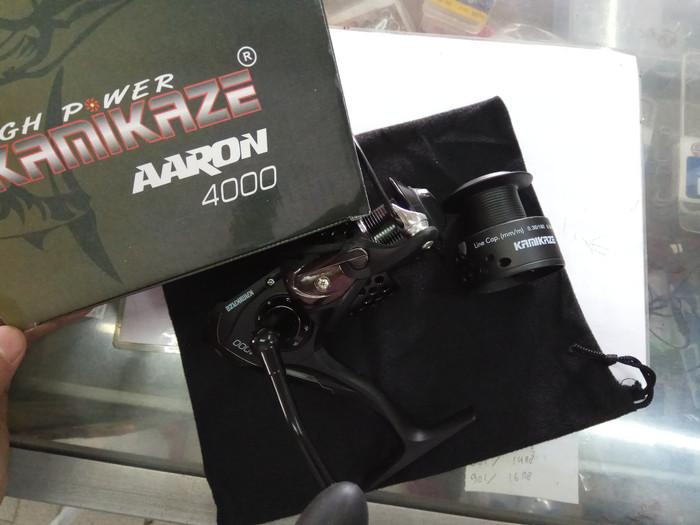 harga Reel Pancing Kamikaze Aaron 4000 Tokopedia.com