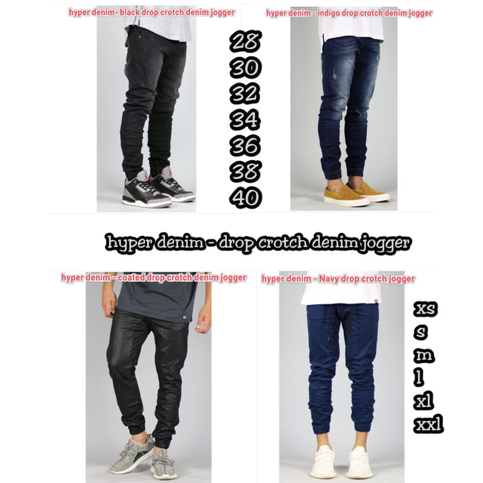 392e95a472776e Jual hyperdenim - drop crotch denim joggee - hendy_snkrs | Tokopedia