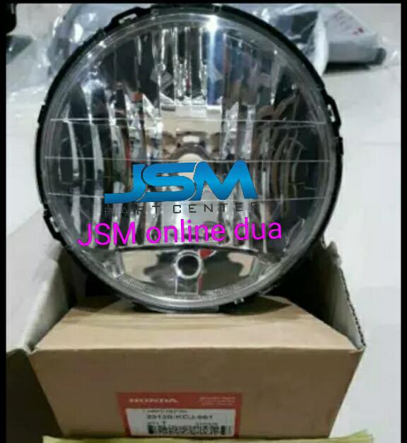 ... harga Head lamp reflektor lampu depan tiger revo ori ahm Tokopedia.com