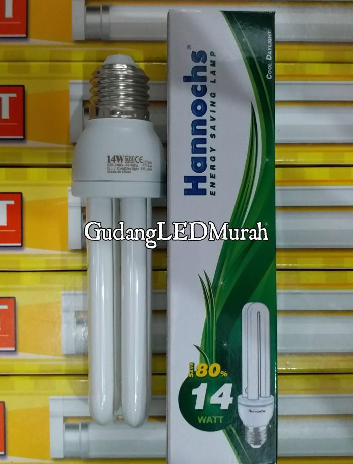 harga Lampu plc 2u hannochs 14 watt Tokopedia.com