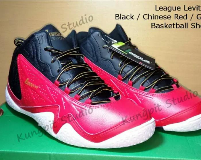 ... harga Sepatu basket league levitate bnib original warna merah hitam  putih 44 Tokopedia.com f669f3f590