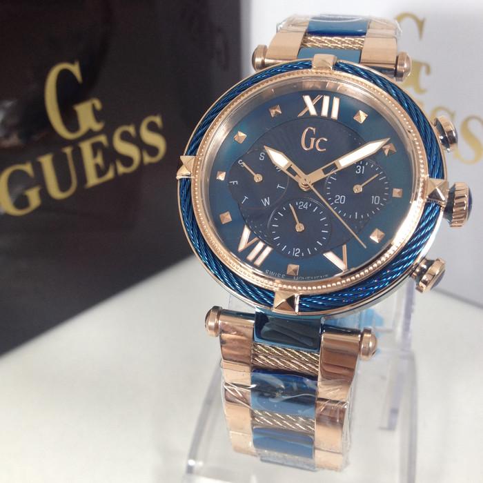 harga Guess collections gc y16002l1 blue rosegold premium Tokopedia.com