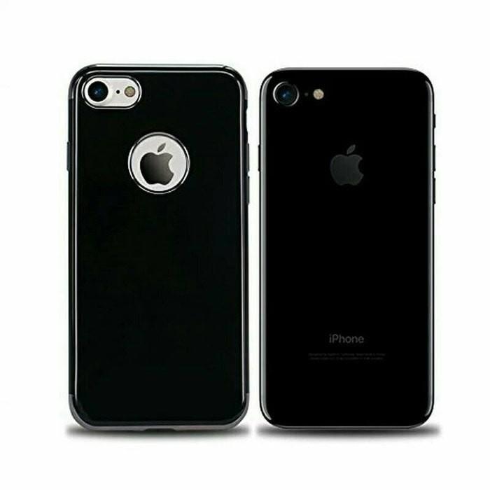 online store 8f4c6 e41d3 Jual SOFTCASE JET BLACK MODEL FOR IPHONE 6 6S PLUS / CASE / LUBANG APPLE -  Blessing Case Shop | Tokopedia