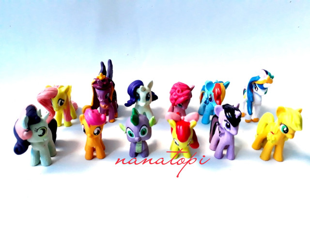 harga Miniatur little pony Tokopedia.com