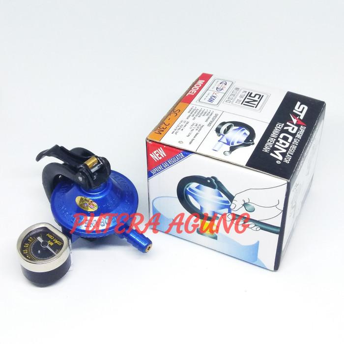 harga Regulator kompor gas lpg com starcam tekanan rendah sc 23m Tokopedia.com