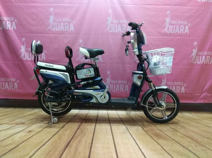 harga Sepeda listrik indobike tulip biru 48v 350w 12ah 38km/h e-bike Tokopedia.com