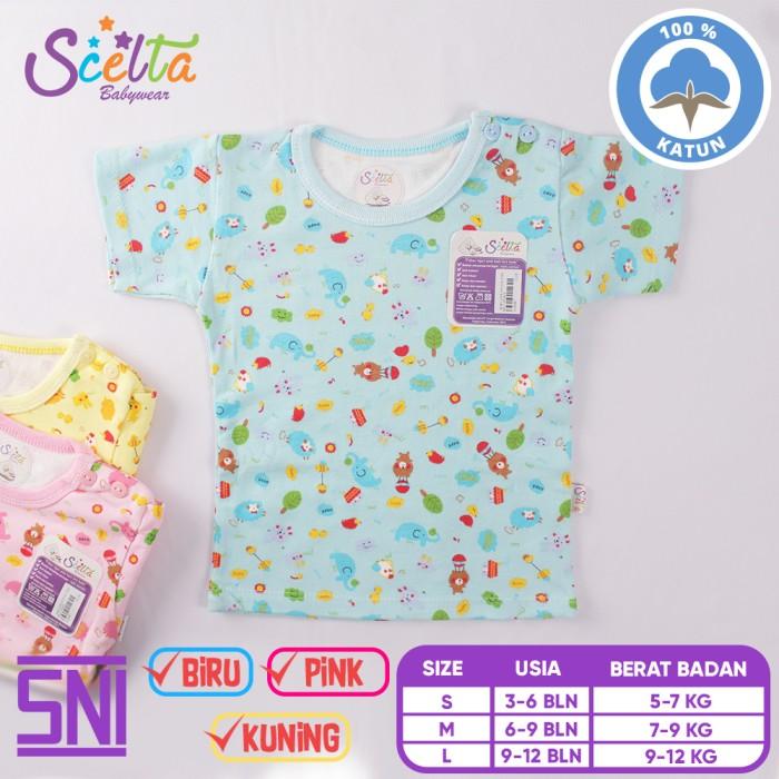 Kaos Lengan Pendek Tee 5 In 1 Kancing Pundak Baju Baby Cewek Umur 24 Source ·