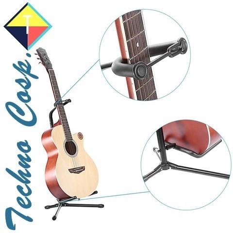 harga Techno cosp stand gitar long neck holder dudukan penyangga panjang Tokopedia.com