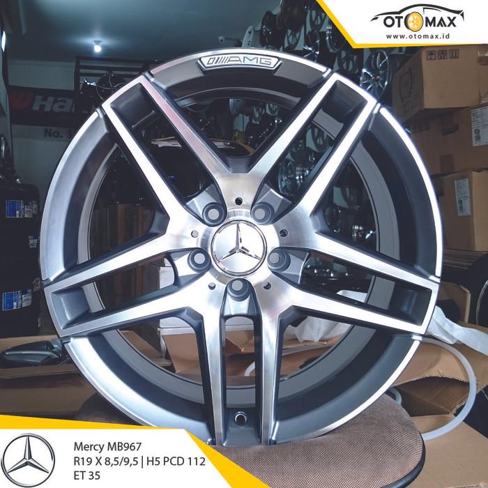 harga Velg mobil mercy amg mb967 ring 19 dark grey Tokopedia.com