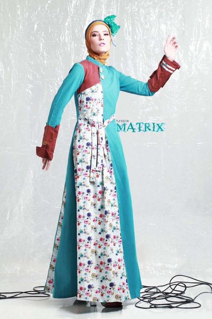 harga Gamis pesta / maxi dress - tuneeca matrix t-0617010 - gamis branded Tokopedia.com