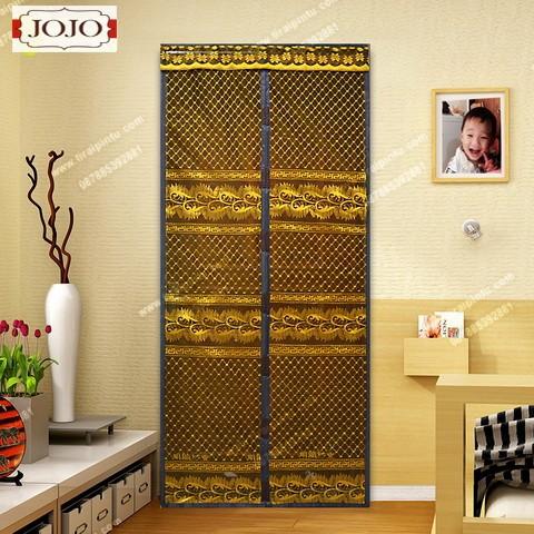 harga Tirai magnet full jahit motif taiwan batik borneo - coklat Tokopedia.com